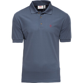 Fjällräven Crowley Piqué Poloshirt Heren, uncle blue